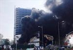 Cháy dữ dội tại Trung tâm thương mại cao nhất thành phố Yên Bái