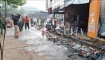Cửa hàng hoa bùng cháy dữ dội sau tiếng nổ lớn, 2 thiếu nữ chết ngạt