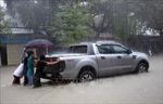 Mưa lớn, nhiều nơi ở Quảng Nam ngập sâu