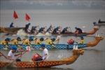 Phó Thủ tướng Vũ Đức Đam dự Lễ hội Bơi chải thuyền rồng Hà Nội mở rộng 2019
