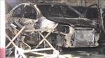5 xe ô tô bị thiêu rụi trong đám cháy garage tại Bình Dương
