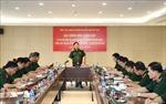 Đại tướng Ngô Xuân Lịch thăm Trụ sở Trung tâm Phát thanh - Truyền hình Quân đội