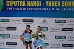 Nhật Bản, Indonesia thắng lớn tại Giải Cầu lông quốc tế Ciputra Hà Nội 2019