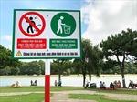 Lắp 20 camera để xử phạt hành vi xả rác bên hồ Xuân Hương, Đà Lạt