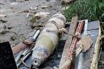Phát hiện quả bom có sức công phá lớn trên sông Tam Bạc