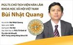 Ông Bùi Nhật Quang giữ chức Chủ tịch Viện Hàn lâm KHXH Việt Nam