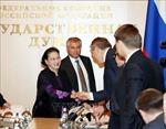 Chủ tịch Quốc hội dự khai mạc Phiên họp lần thứ nhất Ủy ban hợp tác liên nghị viện Việt - Nga