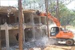 Cưỡng chế công trình xây dựng không phép tại Khu Du lịch quốc gia hồ Tuyền Lâm