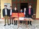 Cụ bà 87 tuổi ở Hưng Yên dành tiền trợ cấp ủng hộ phòng chống dịch COVID-19
