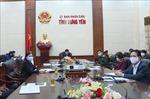 Thứ trưởng Bộ Y tế làm việc về công tác phòng chống dịch COVID-19 tại Hưng Yên