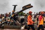 Rơi trực thăng quân sự tại Indonesia làm 9 người bị thương vong