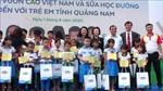 Phó Chủ tịch nước Đặng Thị Ngọc Thịnh thăm, tặng quàthiếu nhi Quảng Nam