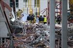 Bỉ: Sập một phần công trình xây dựng trường học khiến 5 thợ xây thiệt mạng