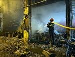 Cháy phòng trà tại TP Vinh làm 6 người tử vong