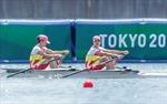 Olympic Tokyo 2020: Việt Nam xếp thứ 15/18 ở nội dung đua thuyền đôi nữ hạng nhẹ