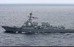 Bộ Quốc phòng Nga: Tàu khu trục Mỹ tìm cách xâm phạm hải phận Nga