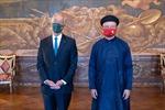 Đại sứ Đinh Toàn Thắng trình Thư ủy nhiệm lên Tổng thống Bồ Đào Nha