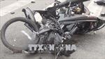 Xe tải đâm trực diện xe máy, hai học sinh lớp 10 tử vong