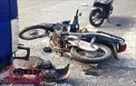 Lái xe tải ngủ gật gây tai nạn làm 6 người bị thương