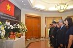Đại sứ quán Việt Nam tại Indonesia tổ chức lễ viếng Chủ tịch nước Trần Đại Quang