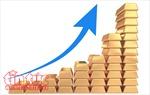 Giá vàng thế giới ở gần mức đỉnh trong 10 tháng