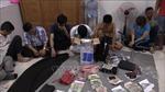Tạm giữ 17 đối tượng để điều tra hành vi đánh bạc ở Bình Dương