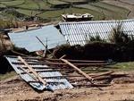 Lốc xoáy, mưa đá làm 276 ngôi nhà tại Yên Bái bị đổ sập, tốc mái