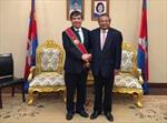 Chủ tịch Hội đồng Thành viên Agribank  nhận Huân chương hạng nhất của Vương quốc Campuchia.