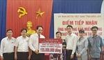 Agribank tỉnh Đắk Lắk ủng hộ 155 triệu đồng cho đồng bào miền Trung bị thiệt hại do mưa lũ