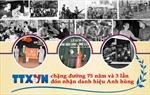 TTXVN - chặng đường 75 năm và 3 lần đón nhận danh hiệu Anh hùng