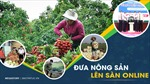 Đưa nông sản lên sàn online