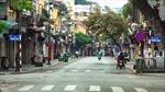 Dịch COVID-19: Người dân Thủ đô nhanh chóng thích nghi với cuộc sống 'cách ly toàn xã hội'