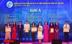 Hà Nội trao thưởng hai giải báo chí về xây dựng Đảng và phát triển văn hóa