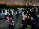 Hà Nội: Một cháu bé rơi từ tầng 24 chung cư xuống đất tử vong