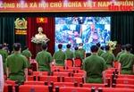 300 cảnh sát cơ động tăng cường đến Bắc Giang chống dịch sẽ bỏ phiếu tại địa phương