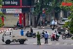 Hạn chế các phương tiện đi qua tuyến đường có Bệnh viện Phổi Hà Nội