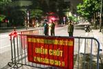 Xuyên đêm tại 'chốt' kiểm dịch COVID-19 của Hà Nội
