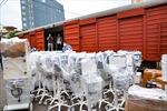Chuyến tàu đặc biệt mang vật tư y tế từ Hà Nội vào miền Nam để chống dịch COVID-19