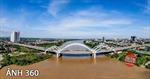 Ảnh 360: Khám phá cây cầu vòm ống thép nhồi bê tông đầu tiên ở Việt Nam