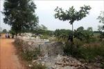 Bốn cơ sở tái chế rác thải bao bì ở Quảng Trị xả thải gây ô nhiễm