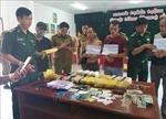 Bắt giữ 3 đối tượng vận chuyển 100.000 viên ma túy từ Lào về Việt Nam