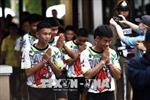 Đội bóng nhí Thái Lan kỷ niệm 1 năm bị kẹt trong hang Tham Luang
