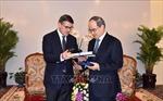 Bí thư Thành ủy TP Hồ Chí Minh Nguyễn Thiện Nhân tiếp Chủ tịch Nghị viện bang Hessen, Đức