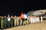 Bệnh viện dã chiến cấp 2 số 1 về nước sau khi hoàn thành nhiệm vụ gìn giữ hòa bình tại Nam Sudan