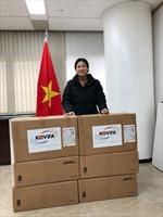 Hội Hữu nghị Hàn - Việt tặng khẩu trang cho cộng đồng người Việt Nam tại Hàn Quốc
