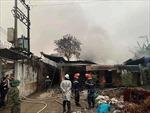 Dập tắt vụ cháy kho phế liệu ở Hà Đông, Hà Nội
