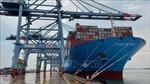 Siêu tàu chở container cập cảng Cái Mép