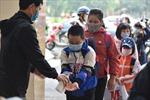 Giao thông ổn định ngày đầu tiên học sinh Hà Nội trở lại trường học