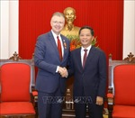 Trưởng ban Ban Kinh tế Trung ương tiếp Đại sứ Hoa Kỳ tại Việt Nam