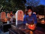 Hơn 60.000 ngọn nến được thắp sáng tại 72 nghĩa trang liệt sỹ ở Quảng Trị
